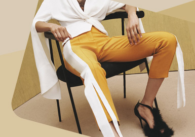 The Focus on Side Seam -- The Detail Craft Trend for Womenswear