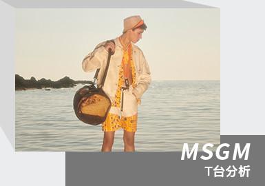 Canone Infinito -- The Menswear Runway Analysis of MSGM