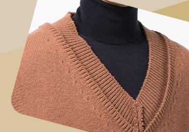 Neckline Transformation -- The Detail Trend for Men's Knitwear
