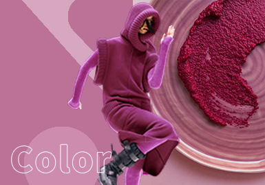 Fuchsia Red -- The Color Trend for Women's Knitwear