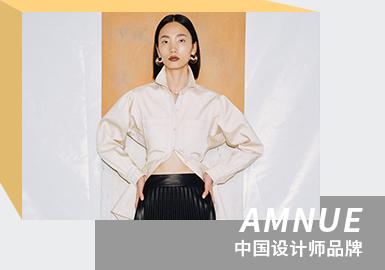 Minimal and Utilitarian--The Analysis of AMNUE The Womenswear Designer Brand