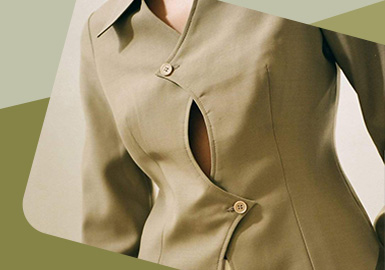 Renewed Front Fly -- The Detail Craft Trend for Womenswear