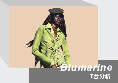 The Wild Millennium -- The Womenswear Runway Analysis of Blumarine
