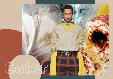 New Business Style -- The Color Trend for Men's Knitwear