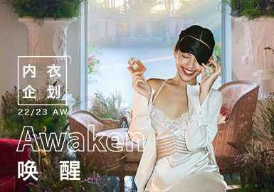 Awaken -- The Design Development of Women's Underwear & Loungewear