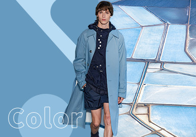 Heritage Blue -- The Color Trend for Menswear