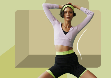 Free Stretching -- The Item Trend for Women's Knitted Workout Clothes