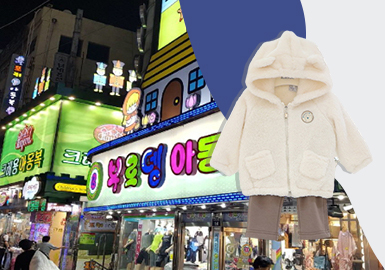 The Vision in Spring and Autumn -- The Analysis of Korean Kidswear Retail Market