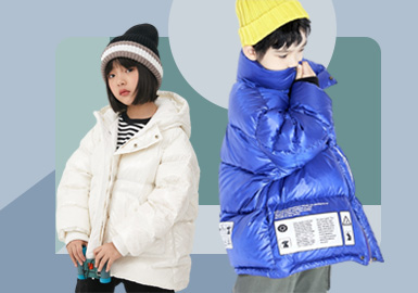 Warm As Spring -- The Silhouette Trend for Kids' Puffa Jacket