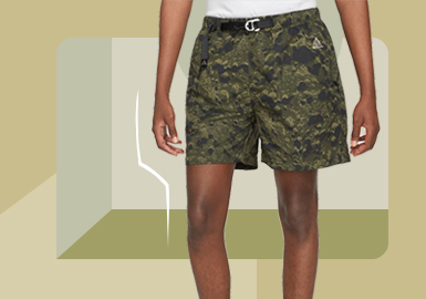 New Practicalism -- The Item Trend for Men's Sport Shorts