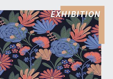 Floral Labyrinth -- The Digital Exhibition Analysis of Première Vision Paris