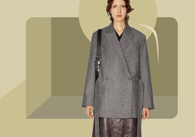 Minimalist Commuting -- The Silhouette Trend for Women's Overcoat