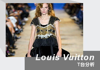 A Grand Ball of Time -- The Womenswear Runway Analysis of Louis Vuitton