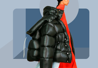 We Wrap the Cold Winter -- The Silhouette Trend for Women's Puffa Jacket