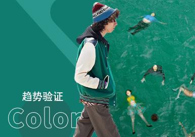 Greenlake -- Menswear Color Trend