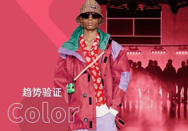 Geranium -- The Color Trend for Menswear