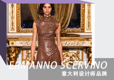 Elegant & Delicate Ladies -- The Analysis of Ermanno Scervino The Womenswear Designer Brand