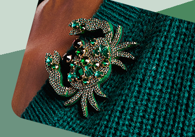 Entry-lux Bead -- The Craft Trend for Women's Knitwear