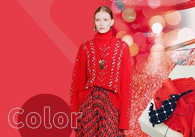 High Risk Red -- The Color Trend for Women's Knitwear(Mature Market)